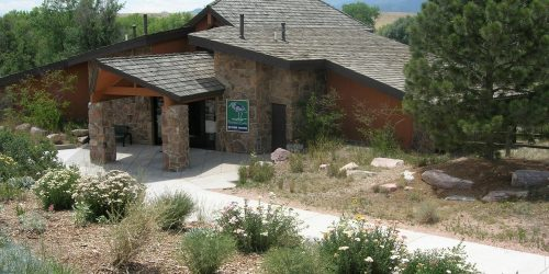 Fountain Creek Nature Center front doors