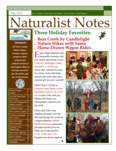 Naturalist Notes newsletter