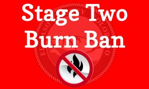 Stage Two Burn Ban