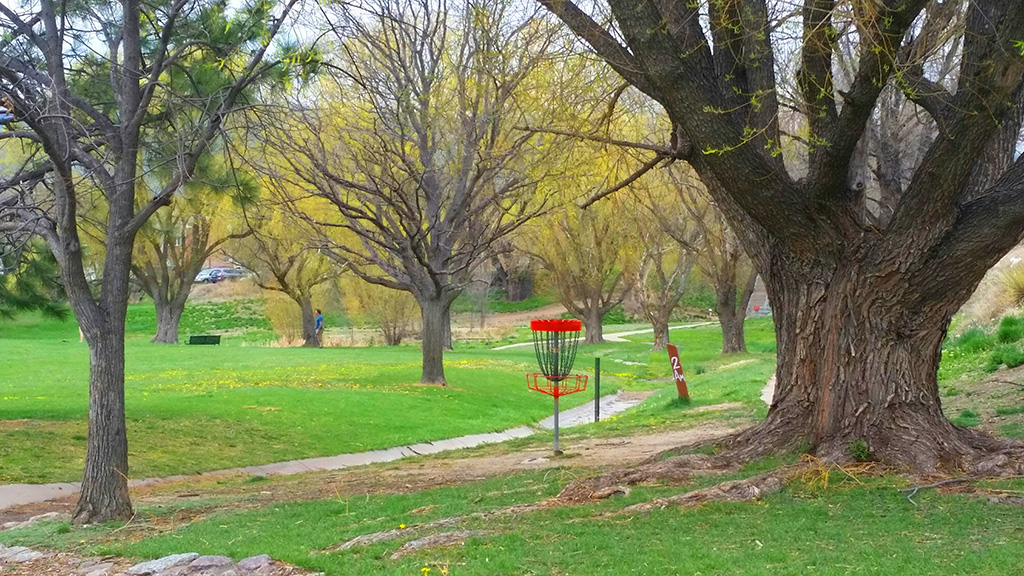 Widefield Community Park disc golf
