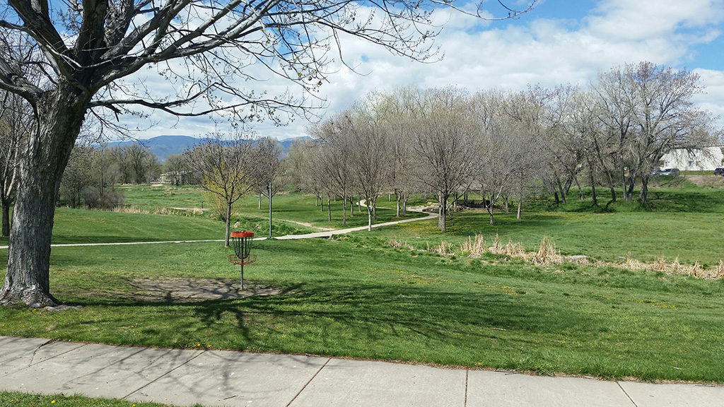 Widefield Community Park disc golf field