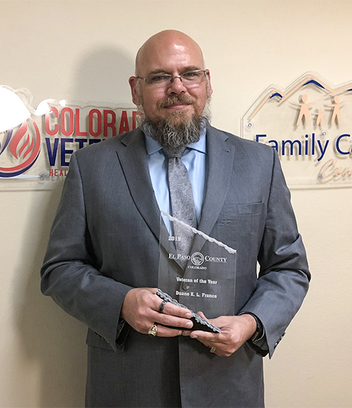 Duane France Veteran of the Year 2019