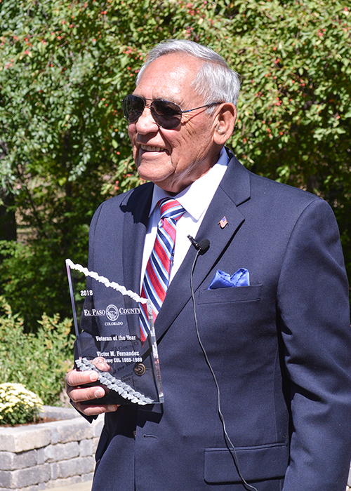 Victor M Fernandez 2018 Veteran of the Year