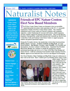 http://communityservices.elpasoco.com/wp-content/uploads/Summer-2017-Naturalist-Notes-Newsletter.pdf